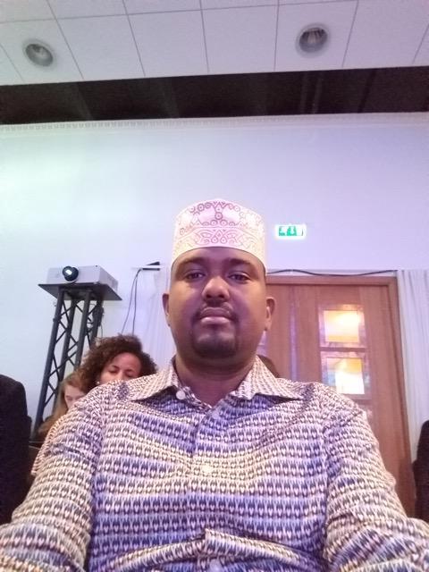 King Cabdirashiid Boqor Cumar Ismail in Stockholm peace and development forum of 2019