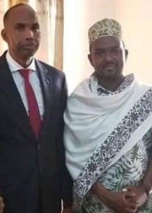 Center african Edlder Invites Royal Highnes King Abdirashiid King Omar Sanweyne crowned in Banderqasim, Puntland African Sumit Elder Heled Iin Kenya 23 Jan 20202